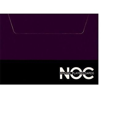 Noc V3S Purple Marked Deck Of Playing Cards By Hopc & Epcc Magic Tricks Gaff