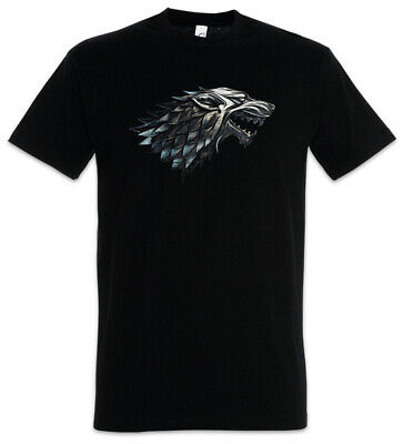 WINTER WOLF T-SHIRT - House Stark Targaryen Game Of Lannister Larp Thrones
