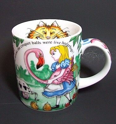 Alice In Wonderland Cafe Mug Coffee Cup Paul Cardew Cheshire Cat Queen