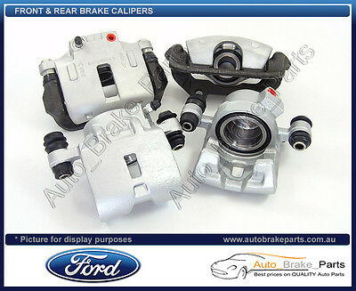 Front & Rear Brake Calipers for FORD FALCON EF EL with Pads, XR6 XR8