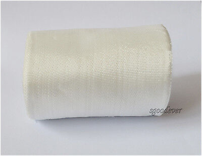 25mm 1 Rolls Plain Weave Fiberglass Cloth Tape E-Glass wide Fiber