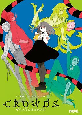 Gatchaman Crowds: Complete Collection (DVD, 2014, 3-Disc Set)