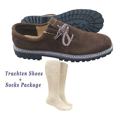 German Bavarian Oktoberfest Trachten Package / Set  Lederhosen Shoes & Socks