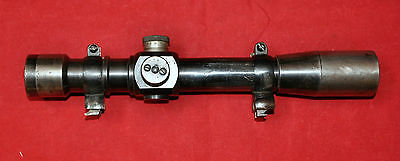 Soviet Original Red Army sniper scope PEM with claw mounts for K98 made in 1939