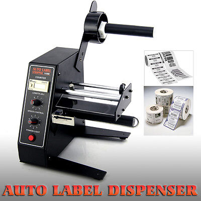 Commercial AL-1150D Machine Electric Label Dispenser Device Sticker Separating