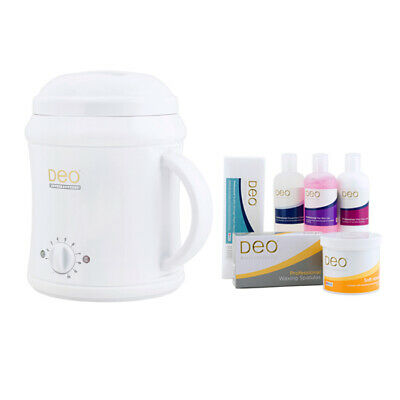 030413 Deo Professional 1000cc Starter Wax Waxing Heater Pot Warmer Kit White