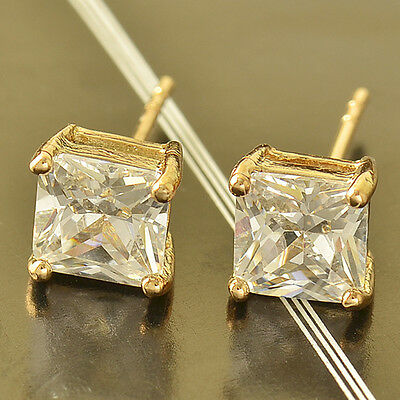 for womens mens fashion jewelry crystal crystal gold filled big stud earrings