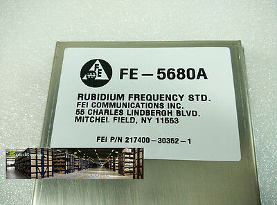 Original For FE-5680A output 10MHz P/N 217400-30352-1 Rubidium Atomic Frequency