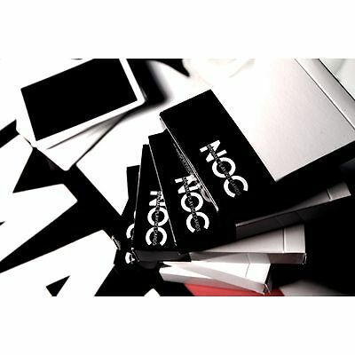 NOC v2 Deck (Black) by House of Playing Cards magic trick