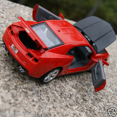 Chevrolet Camaro 1:32 Cars Model Sound & Light Alloy Diecast Toys Gifts Red New