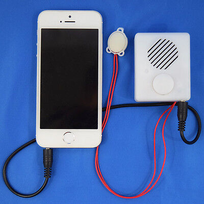 Easily Re-recordable Sound Box with wired button - Record From Any Device