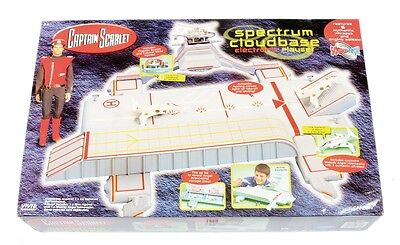 Brand New Captain Scarlet Spectrum Cloudbase Hq Cloudtech