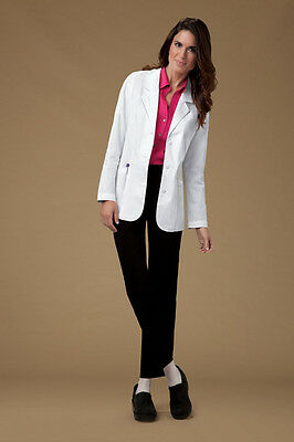 """Cherokee 30"""" Shaped lab coat, tie back belt Style 348 (All Sizes)"""