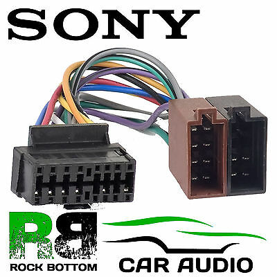 sony cdx s2000 cdx s2000c wiring harness loom wire iso fittings rh picclick co uk CJ7 Wiring Harness 13 WRX Engine Wiring Harness