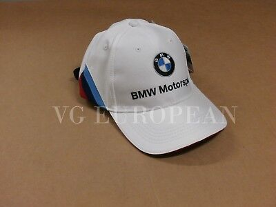 BMW Genuine M Power Motorsport Fan Team Collectors Baseball Cap Hat NEW !!!!!!