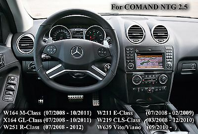 MERCEDES ML GL R E CLS TV FREE VIDEO IN MOTION for W164/251/211/219 2009-2011