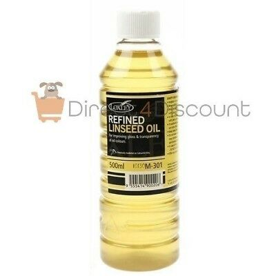 Loxley 500ml Artists' Refined Linseed Oil Paint Painting Medium