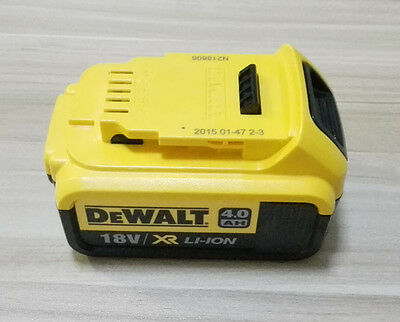NEW DeWalt DCB182 18V 4.0 Ah electric li-ion power battery for free shipping