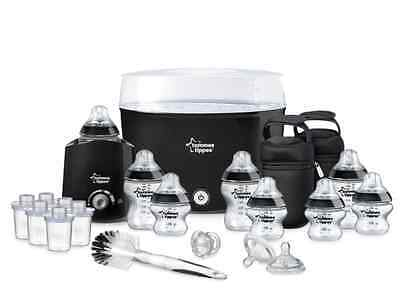 New Tommee Tippee Closer to Nature Essential Starter Kit Bottles Steriliser Set
