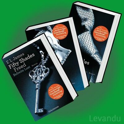 FIFTY SHADES OF GREY + DARKER + FREED | E L JAMES | Erotik-Trilogie Band 1+2+3