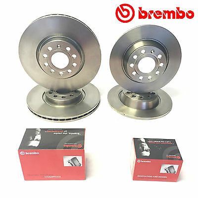 For Vw Golf MK5 GTI ED30/Editon30 Front Rear Brembo Brake Discs Pads 312 282mm
