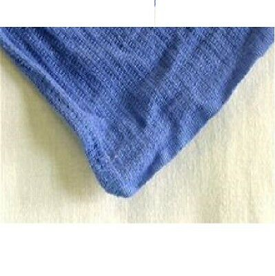 12 Premium Blue Huck Towels Glass Cleaning Janitorial Lintless Surgical Towels!!
