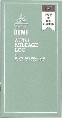 "Dome Auto Mileage Log Book - 770 - 3-1/4"" x 6-1/4"""