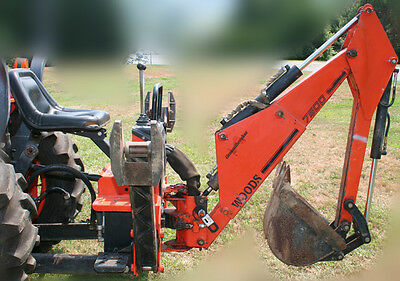 """Woods Backhoe 7500 with 2 buckets-12"""" and 18""""  BH7500-1 and 86201"""
