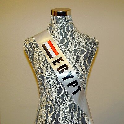 JORDAN Custom Country Sash Pageant or any occasion