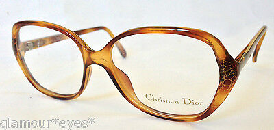 VTG DIOR EyeGlasses GLASSES Lunette Brille 2429 Tortoise Gold Frame Optical