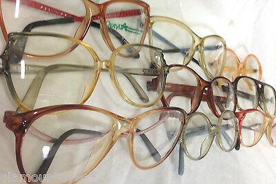 Authentic VTG TERRI BROGAN Sunglass Frame Glasses Eyewear Aviator WHOLESALE LOTS