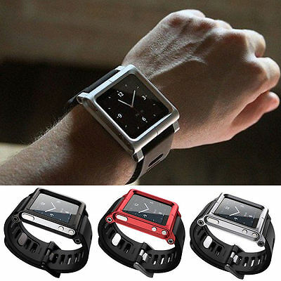 Lunatik Watch Band Kit Wrist Strap Bracelet For Apple iPod Nano 6 6th 6g Watch