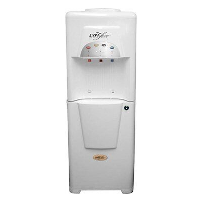 Hot Cold Water Cooler and Coffee Dispenser*NEW*Javaflow White