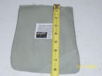 BULLETPROOF Block Spall 1Trauma Plate Level IIIA 5X8 Body Armor Vest