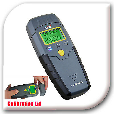 NDI 2 in 1 Pin-type Moisture Meter Damp Detector Wood + Calibration lid 310B