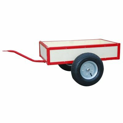 Red Tipping Trailer For Pedal Go-Kart