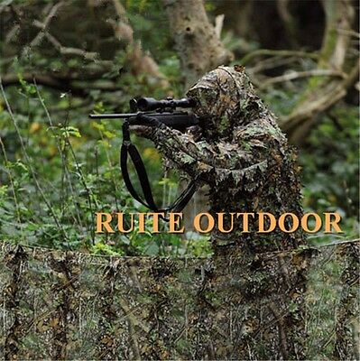 Outdoor Hunting Camouflage Clothing Military Yowie Sniper Archery Ghillie Suit