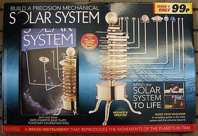 Build a Model Solar System # 1 NEW Magazine and Part included