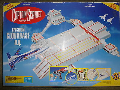 Captain Scarlet Spectrum Cloubase Hq Brand New