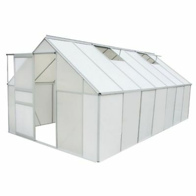 GREENHOUSE POLYCARBONATE AND ALUMINIUM FRAMED 10,75 m2