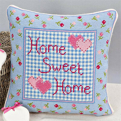 Twilleys - Tapestry Cushion Front Kit - Home Sweet Home - 2894/0012