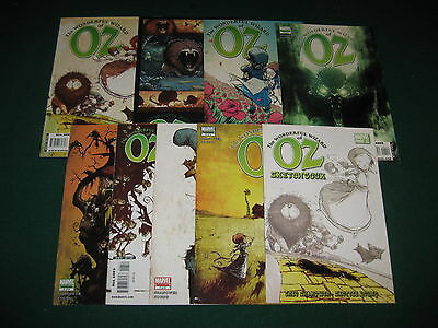 THE WONDERFUL WIZARD OF OZ  COMPLETE SET 1 2 3 4 5 6 7 8  HIGH GRADE