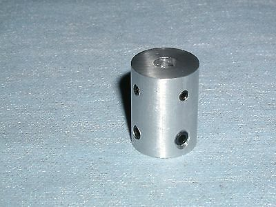 "SHAFT COUPLER 1/2"" TO 1/4"" By ESG 6061 ALUMINUM USA Made ***HAVE THESE IN DAYS**"