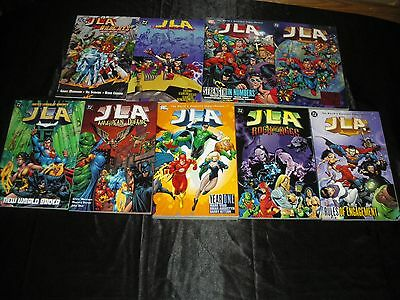 Jla Vol 1  2  3  4  6  13  Year One New World Order World Without Grown-Ups Tpb