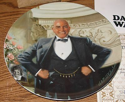 Little Orphan Annie Daddy Warbucks Collector Plate Knowles Bradford Exchange