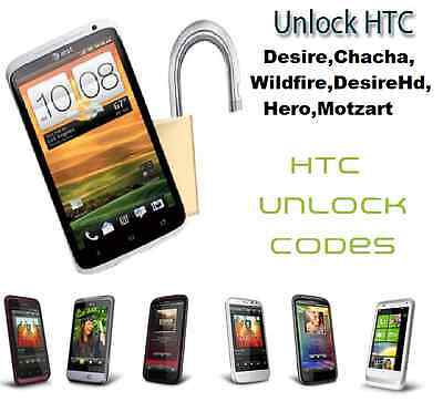 unlock code for HTC ONE S, G1 G2 G3 INSPIRE 4G UNLOCK UNLOCKING CODE