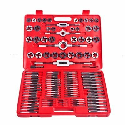 vidaXL Screw Thread Tap and Die Set 111 pcs Workshop Hand Car Tools Wrench