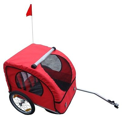 New Bicycle Trailer Bike Storller Jogger Double Kids Child Children Seat Buggy