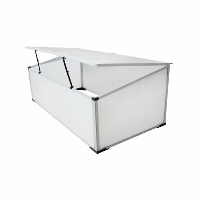 New COLD FRAME MINI GREENHOUSE POLYCARBONATE 109x56x41 cm