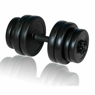 New Dumbbell Dumbell Bar Plastic Covered Weights Set
